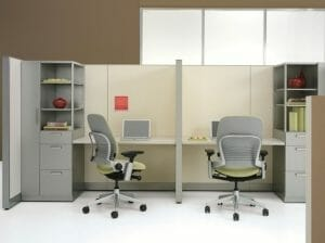 Refurbished Office Cubicles Houston TX - Wells and Kimich