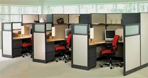Modern Office Cubicles Houston TX - Wells and Kimich