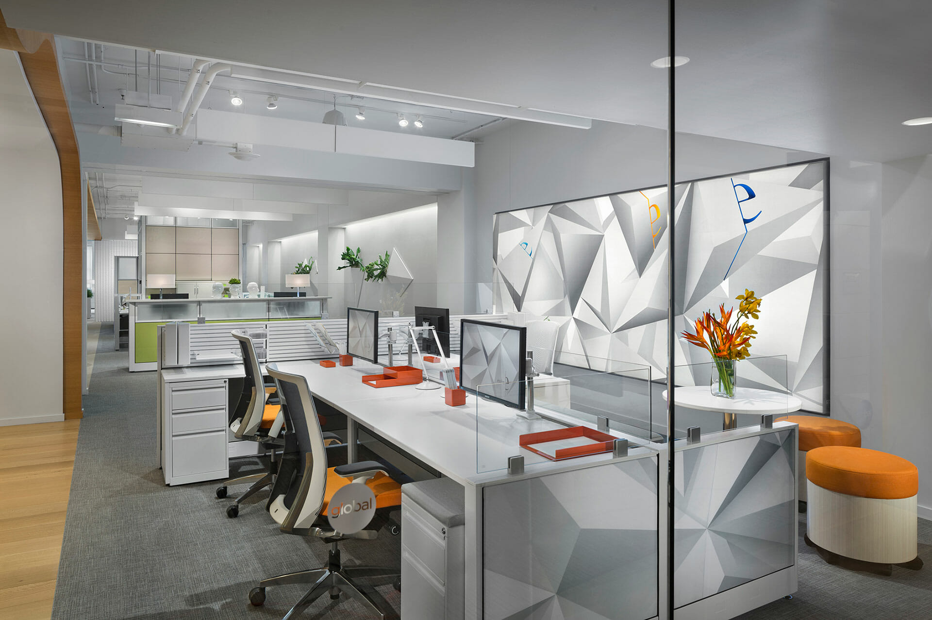 Office Cubicles Design - Wells and Kimich